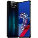 ZS671KS-BK256S8 ASUS(エイスース) ASUS ZenFone 7 Pro - オーロラブラック 6.67インチ SIMフリースマートフォン[マルチキャリア対応:docomo/au/Softbank/Y!mobile]