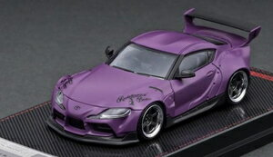 車, ミニカー・トイカー 164 PANDEM Supra (A90) Matte PurpleIG2335 ignition