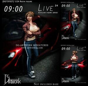 プラモデル・模型, その他 124 LIVE 24 - 09:00DG75F027 DG
