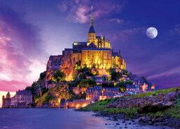 海外風景 トワイライト モン・サン・ミシェル(フランス)600ピース ジグソーパズル ビバリー
