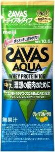 明治 ザバス(SAVAS) アクアホエイプロテイン WPI グレープフルーツ トライアル 36袋 明治 プロテイン