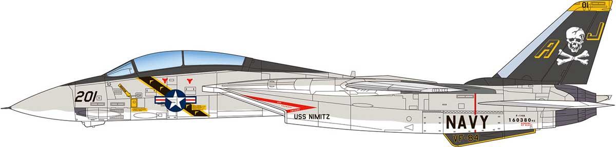 ミリタリー, 戦闘機・戦闘用ヘリコプター 148 F-14A (70s VF-1 VF-2 VF-84)TPA-01