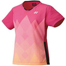 YO-20621-654-XO ヨネックス レディース ゲームシャツ(スリム)(ベリーピンク・サイズ:XO) YONEX