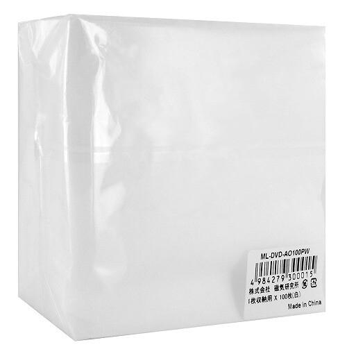 磁気研究所 HIDISC 片面不織布 ML-DVD-AO100PW 1パック(100枚)