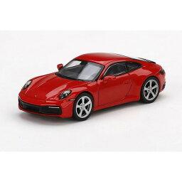 1/64 ポルシェ 911(992) カレラ S ガーズレッド(左ハンドル) 【MGT00283-L】 ミニカー MINI−GT