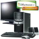 ◇モニタセット◇ eMachines デスクトップパソコンJ3224 (Office PowerPoint2007)+BENQ ...