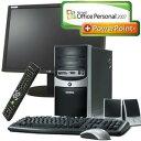 ◇モニタセット◇eMachines デスクトップパソコン J4468 (Office+PowerPoint2007)+LG電子 L204...