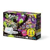 Wii U スプラトゥーン セット(amiibo アオリ・ホタル付き)【お1人様1台限り】 【税込】 任天堂 [WUP-S-WAHT]【返品種別B】【RCP】【送料無料】
