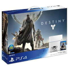 PlayStation(R)4 Destiny Pack(グレイシャー・ホワイト)【お一人様一台限り】 ソニー・コンピュータエンタテインメント [CUHJ10005]