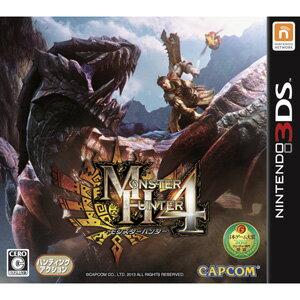 【9月20日 出荷予定分】【3DS】モンスターハンター4 【税込】 カプコン [CTR-P-AH4J]【返品種別B】【RCP】【送料無料】