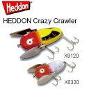 【納期2、3ヶ月】※3個セットでの販売になります。【取寄せ商品】HEDDON ヘドン Crazy Crawler ...