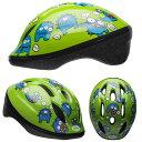 BELL ZOOM2 ズーム2 グリーンファートモンスター ヘルメット/ ベル 自転車 子供用ヘルメット