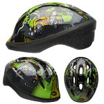 【送料無料】BELLZOOM2ズーム2ブラックホットロッドスカンクヘルメット/ベル自転車子供用ヘルメット