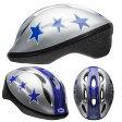 BELL ZOOM2 ズーム2 シルバーxブルースタント ヘルメット/ ベル 自転車 子供用ヘルメット【秋セール】