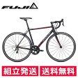 FUJI ROUBAIX 1.5 ルーベ 700x25C Matte Black/Red 2017年/フジ スポーツバイク ロードバイク【送料無料】