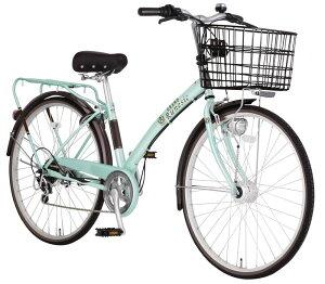 マルキン スコルト 27インチ 6段変速 自転車 シティーサイクル BAA