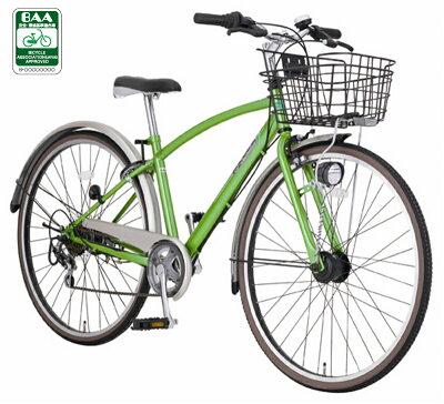 【組立発送】マルキン ノスタリア J266-E 26インチ 6段変速 オートライト 子供用自転車 BAA