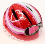 シルバーリング キッズ 用 ヘルメット kazenoko!RIDER (かぜのこライダー) レッド