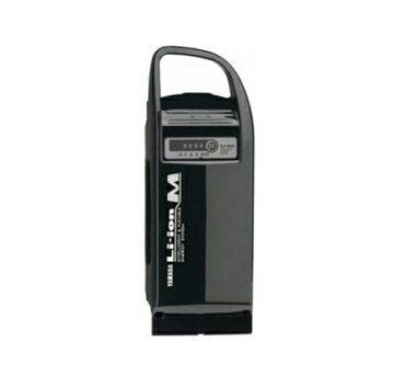 ヤマハPAS専用交換バッテリー6.0AhリチウムMブラック/電動自転車バッテリー
