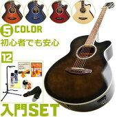初心者セットアコースティックギターアリア【エレアコ12点入門セット】LegendbyARIAFCO-STDレジェンドエレクトリックアコースティックギターフォークギター