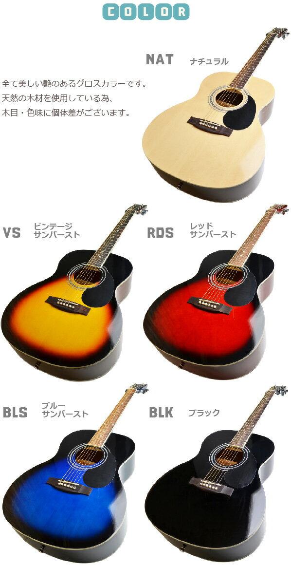 初心者セット アコースティックギター セピアクルー アコギセット FG10 フォークギター FG-10