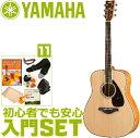 アコースティックギター 初心者セット ヤマハ 【アコギ 11点 入門セット】 YAMAHA FG840 アコギセット FG-840S