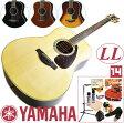 初心者セット ヤマハ アコースティックギター 【アコギ 14点 入門セット】 YAMAHA LL6 ARE エレアコ LL-6