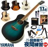 アコースティックギター 初心者セット ヤマハ エレアコ YAMAHA APX600 ギター 初心者 アンプ 17点 アコギ 入門 セット