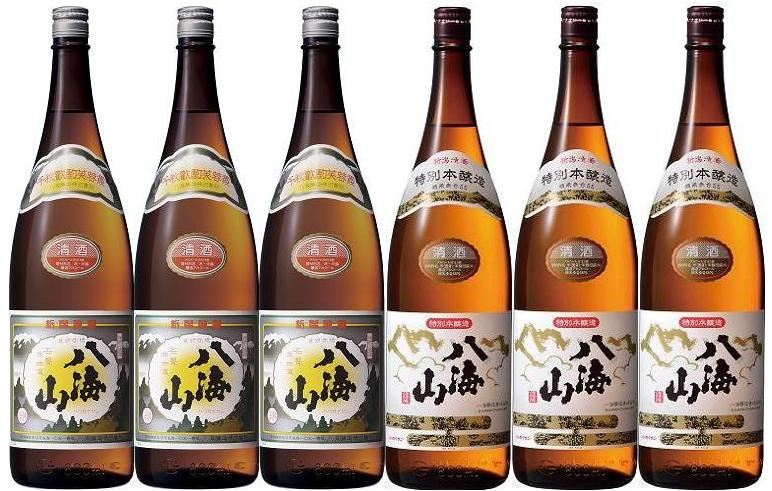 【送料無料】【八海山】清酒&特別本醸造 1800...の商品画像