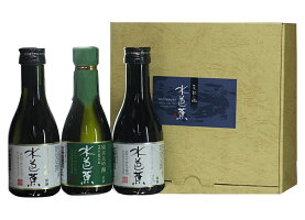 群馬県永井酒造水芭蕉純米大吟醸3本飲みくらべセット180ml×3本化粧箱入要低温瓶詰2017年06月以降