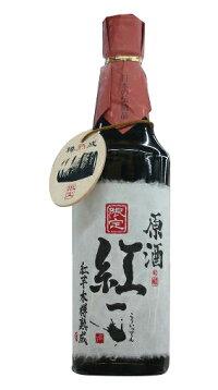 大分県老松酒造紅一点紅芋焼酎木樽熟成原酒37度720ml