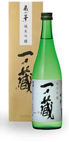 一ノ蔵純米吟醸蔵の華720ml(専用箱入り)