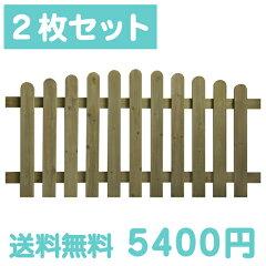 大型フェンスです。庭の背景や間仕切りとして広い範囲でご使用になれます。【送料無料】ACQ11連...