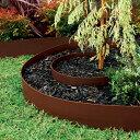 柔軟な素材。カーブを描いて庭園をデザインする、簡単で便利な土留めです。【NEW】デュロエッジ...