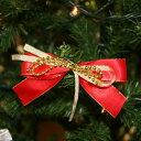 クリスマスレッド&ゴールドリボン...