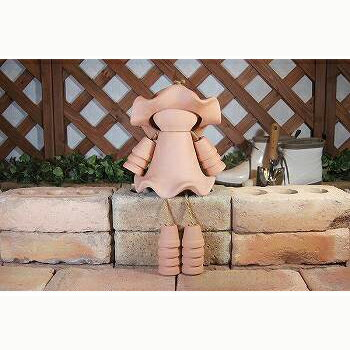 テラドール Y-113 組立キット ひーちゃん 植木鉢 人形【送料無料】【代引き不可】