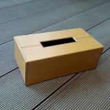 ティッシュBOXライトブラウン深型 (aks-31467)ティッシュ ケース ボックス カバー