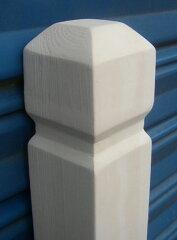 超超お買い得!ラティスポスト1200(白色)60mm角 ラティスフェンス ガーデニング ウッドフェ...