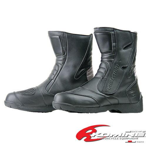 コミネ BK-072 ネオWPライディングブーツ ショート KOMINE BK-072 Neo WP Riding Boots Short 05-...