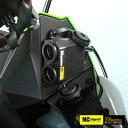 NEWING(ニューイング) MC シグナル 生活防水 電源アダプター 12V シガーソケット ツインタイプ NSMS-001