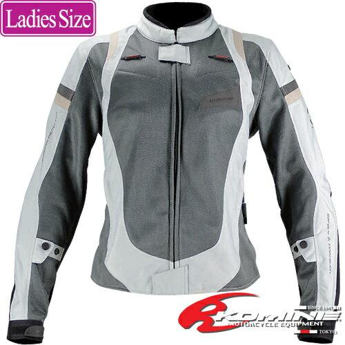 コミネ JK-083 レディースフィットメッシュジャケット 3D KOMINE 07-083 Ladies Fit ...