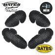 BATES BOP-A01 ベイツ エアスルー肩肘パッドセット ショルダー・エルボープロテクター バイク/プロテクター/通気/蒸れない
