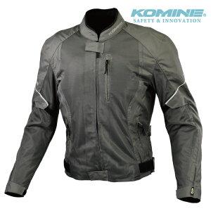 コミネ JK-146 OLIVE プロテクトハーフメッシュジャケット KOMINE 07-146 春夏 バイク ジャケット スポーティ メンズ レディース CE適合パッド付 2020年モデル