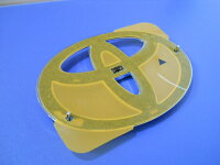 ウィッシュ10系輸出仕様純正部品フロントトヨタマークエンブレム中期用