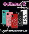 【Optimus it L-05E L-05D ケース】カメリアハンドメイドスワロフスキーケース Optimus it/オプティマス イット/ケ-ス/スマホケース/スマホ カバー/オプティマスイット/docomo/スマートフォン/デコ/ドコモ/L05E/L05D/TPU