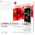【Zenfone3 DELUXE ZS550KL】9H 液晶保護 強化ガラスフィルム【保護フィルム/ゼンフォン 3 デラックス/ケース/カバー/スマホケース/スマホ カバー/スマホカバー/ASUS/UQ mobile/エイスース/simフリー/スマートフォン/携帯/液晶保護/シート/フィルム】