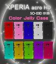 XPERIA acro HD so-03d ケース tpu かわいい シリコン リボン ドットケース is12s ハードケース
