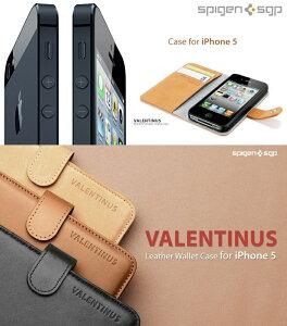 【iPhone5S iPhone5 カバー】SPIGEN SGP Valentinus ヴァレンティヌス レザー手帳カバー 4[iPhone5]【レザー】【メール便送料無料】【アイフォン5/i-phone】【docomo/ドコモ】【02P31Aug14】
