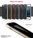 iPhone X ケース iphone6s ケース SPIGEN NEO HYBRID 正規品 バンパー アイフォンxケース スマホケース iPhone6 ケース 耐衝撃 iphone6splus iphone 6 plusケース ブランド iphonex カバー おしゃれな ネオハイブリッド アイフォン アイフォン6s シリコン