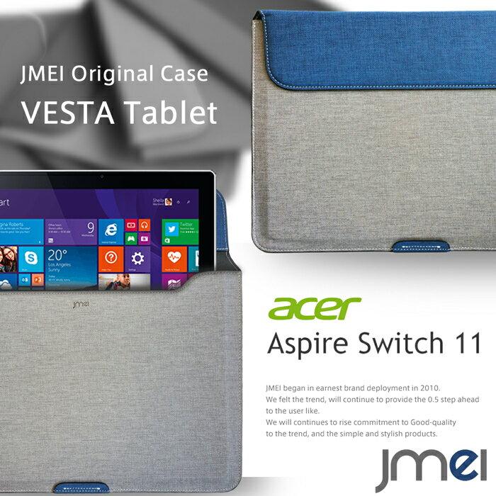 【Aspire Switch 11 ケース SW5-171-F34D】プロテクトレザーポーチケース VESTA Tablet ハンドストラップ付き【書類ケース ドキュメントケース A4 ブリーフケース Wi-Fi モデル acer エイサー アスパイア スイッチ 11 タブレット カバー ノートパソコン ノートpc】